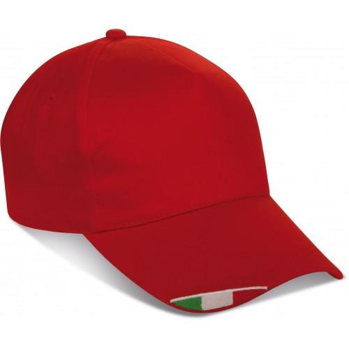 Cappellino bandiera italiana