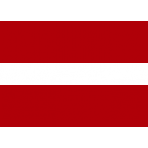 Bandiera LETTONIA in poliestere nautico