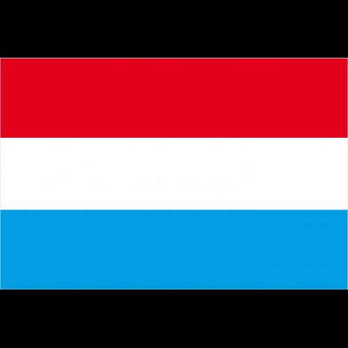 Bandiera LUSSEMBURGO in poliestere nautico