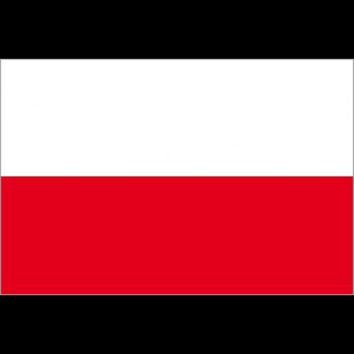 Bandiera POLONIA in poliestere nautico