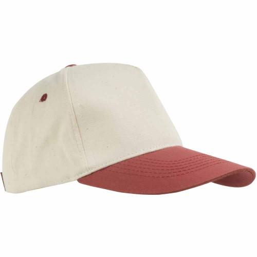 Cappellino bicolore