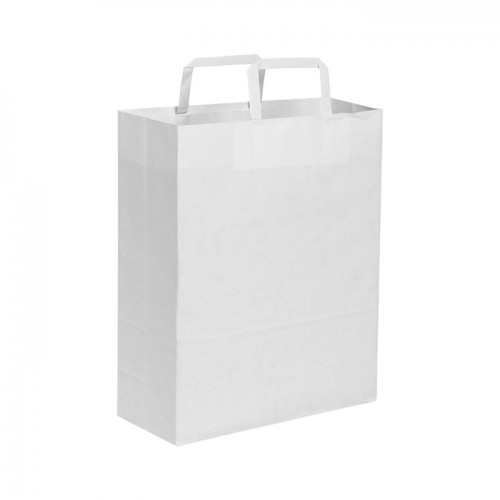 Shopper bianco 28x36x12