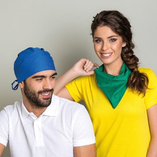Bandana fazzoletto da collo in cotton twill