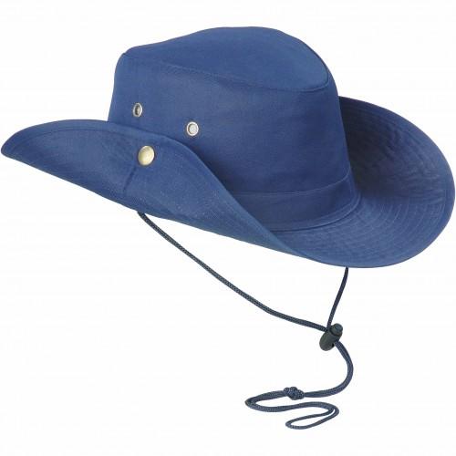"""Cappello in poliestere a tesa larga """"safari"""""""