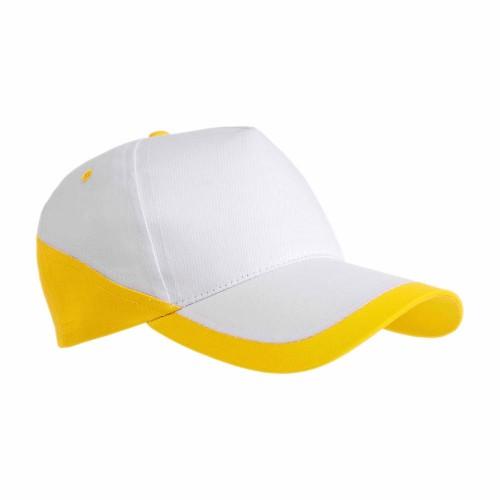 Cappellino cotone bicolore