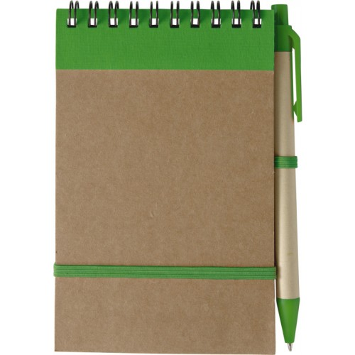Notes con elastico e spirale
