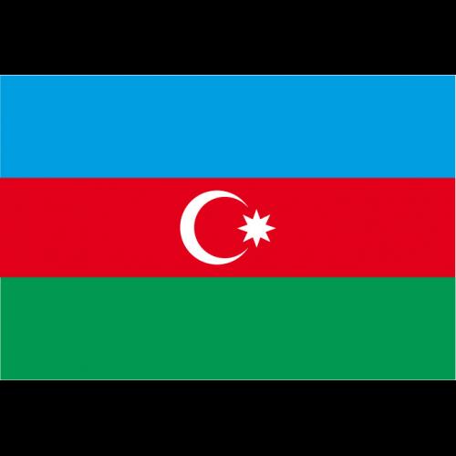 Bandiera AZERBAIGIAN in poliestere nautico