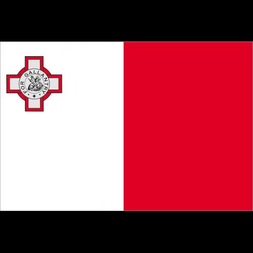 Bandiera MALTA in poliestere nautico
