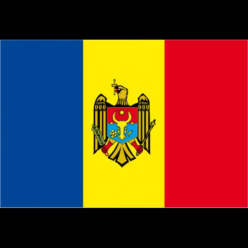 Bandiera MOLDAVIA in poliestere nautico
