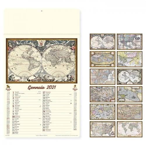 """Calendario """"ANTICHE MAPPE"""""""