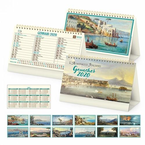 """Calendario """" GOUACHES"""""""