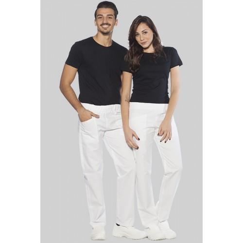 Pantalone bianco da lavoro