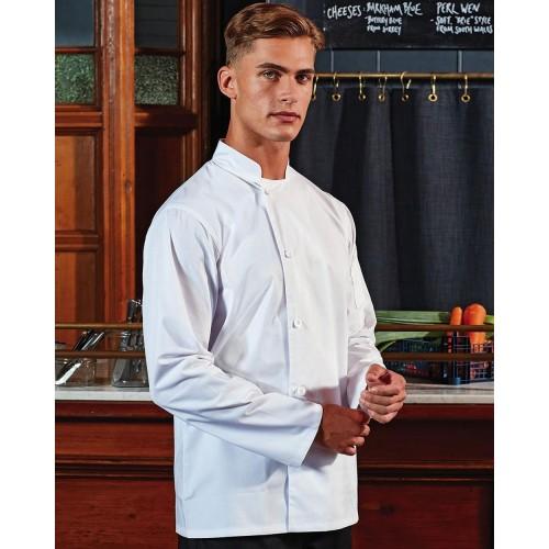 Giacca da chef resistente a maniche lunghe