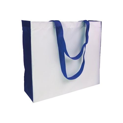 Shopper con soffietto colorato