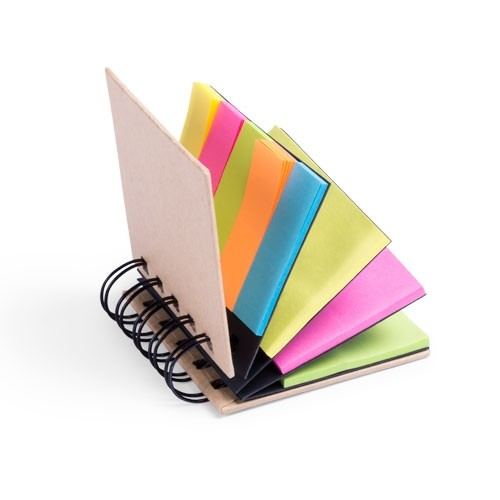 Block notes con post it
