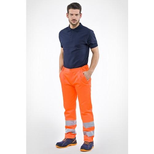 Pantalone alta visibilità poliestere/cotone
