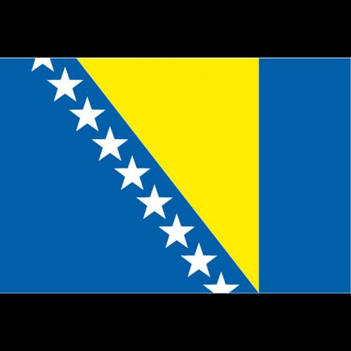 Bandiera BOSNIA in poliestere nautico