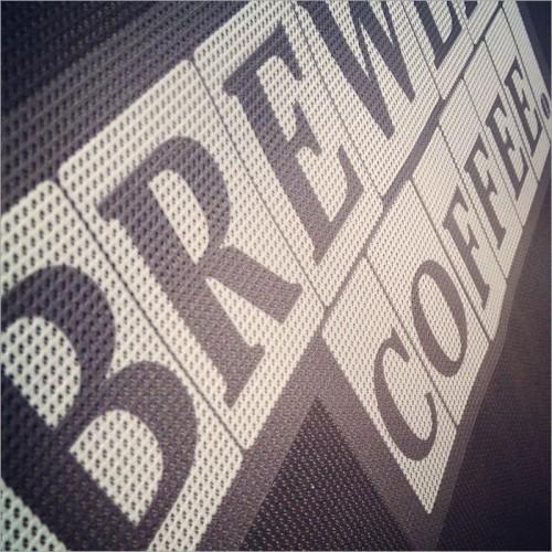 Banner in rete mesh