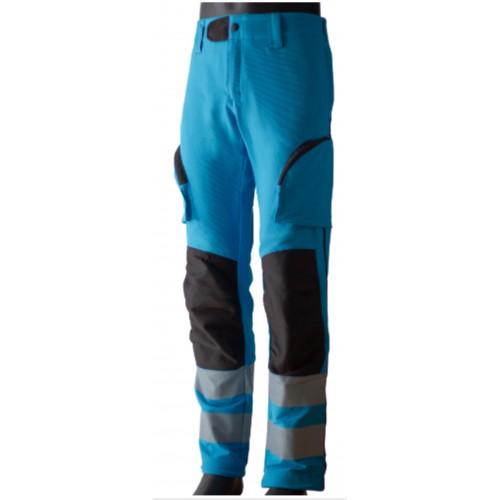 Pantalone Ciano Bi-Elasticizzato