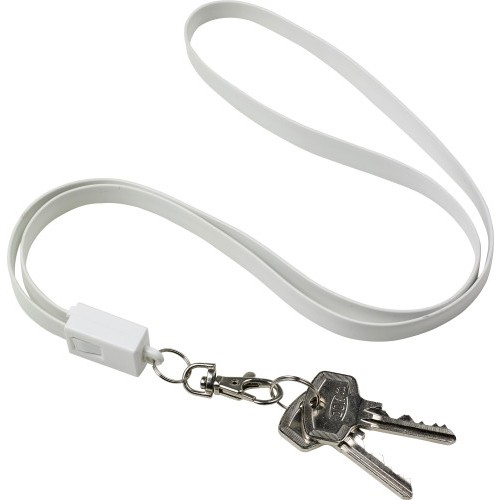 Lanyard TPE con connettore